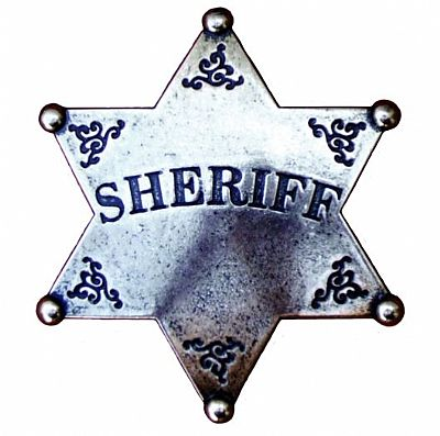 Sheriff Badge (7,5cm)