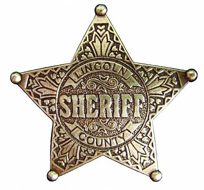 Sheriff Lincoln County (6.5cm)
