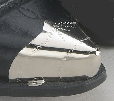 Pointed Silver Toe Tips